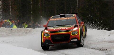 Rootsi MM-rallil head kiirust näidanud Östberg Citroenist: olin selles autos istudes hirmul