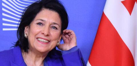 Президент Грузии позвонила Керсти Кальюлайд после ее встречи с Путиным