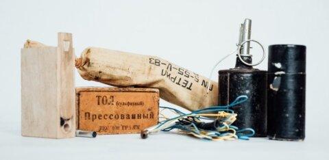 ГАЛЕРЕЯ: Смотрите, какие взрывные устройства спасатели изьяли у эстоноземельцев