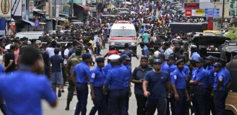 ФОТО и ВИДЕО: На Шри-Ланке во время празднования Пасхи произошли шесть взрывов: 160 погибших, почти 400 раненых
