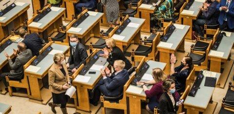 FOTOD | Riigikogu asendusliikmed andsid ametivande
