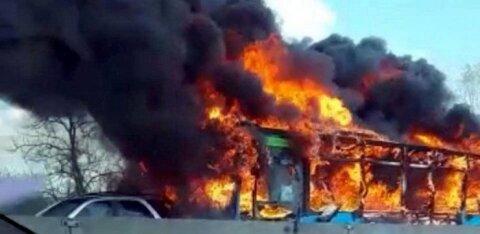 ВИДЕО: В Италии выходец из Сенегала угнал и пытался сжечь школьный автобус вместе с детьми