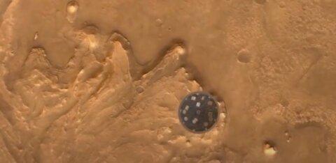 Как происходит посадка на Марс? Блогер RusDelfi подробно комментирует видео c ровера Perseverance