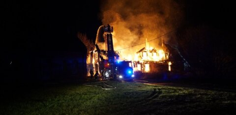 В Курской области при пожаре погибли три ребенка: 2014, 2016 и 2017 годов рождения