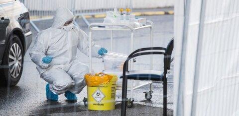 52 новых случаев заражения коронавирусом выявлено в Эстонии