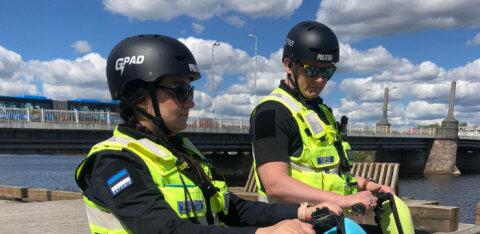 ФОТО | В Пярну полиция получила новомодные средства патрулирования
