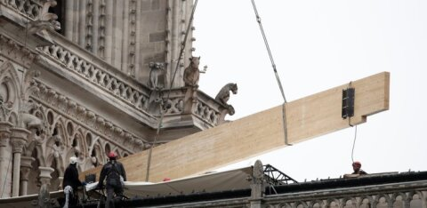 Dominique Moïsi: kogu maailma me aidata ei suuda. Seda olulisem on päästa Notre-Dame