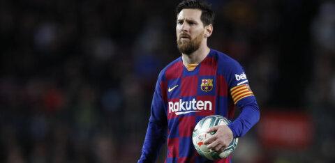 Messi nõustus suure palgakärpega ja kritiseeris Barcelona klubijuhte