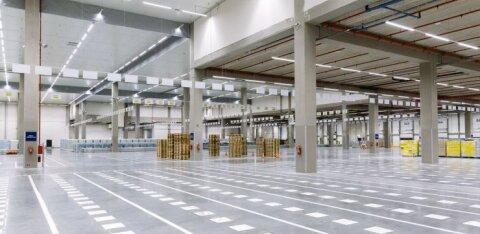 ФОТО | В Риге открыт логистический центр Lidl, который будет обслуживать и Эстонию