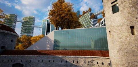 FOTOD JA VIDEO | Kuidas tundub? Tulevikus võib Tallinn välja näha just selline