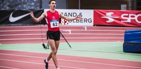 Nazarov püstitas vihmastes tingimustes isikliku rekordi, Ojaloo heitis korraliku tulemuse