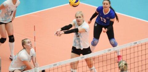 Eesti võrkpallikoondis alistas noorte sidemängijate juhtimisel Läti
