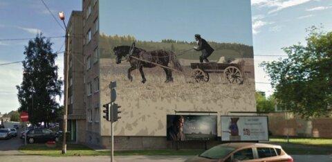 В столичном районе Кесклинн еще один жилой дом украсят суперграфикой. Смотрите, как это будет выглядеть!