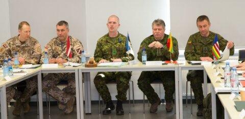 FOTOD | Ida-Virumaal kohtusid Balti kaitseväe juhatajad