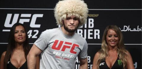 ФОТО и ВИДЕО: Брат Хабиба задушил соперника в UFC