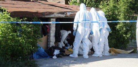 ФОТО С МЕСТА ПРОИСШЕСТВИЯ | В Таллинне в заброшенном здании найдено тело женщины с признаками насилия