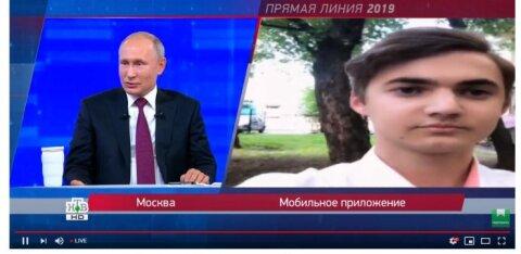 На YouTube-канале НТВ Прямая линия Путина получила огромное число дизлайков