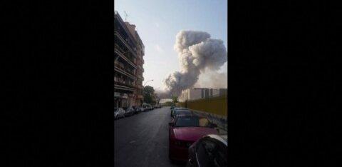 ВИДЕО | Взрыв в Бейруте с другого ракурса: ударная волна накрывает пешеходов