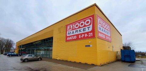 ФОТО | В Кохтла-Ярве на месте универмага Prestone открылся магазин A1000 Market