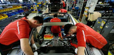 Saksamaa majanduslangus seab autotööstuse löögi alla