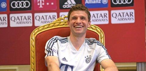 Müncheni Bayerni legend sõlmis klubiga uue lepingu