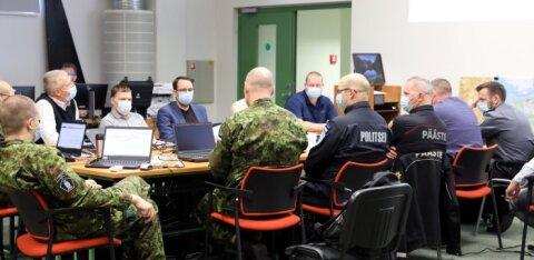 FOTOD | Lõuna-Eestis toimub riigikaitse ühisõppus