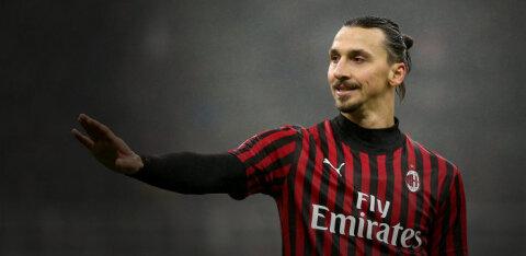 AC Milan teatas Zlatan Ibrahimovici osas hea uudise