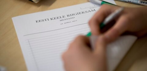 Каждый пятый выпускник гимназии уклонился от госэкзаменов. Самым непопулярным экзаменом в русских школах был эстонский