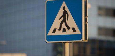 У автобусной остановки в Ласнамяэ сбили пешехода