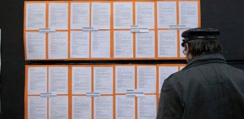 Численность зарегистрированных безработных превысила границу 40 000