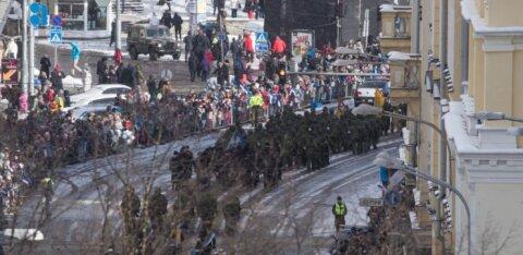 СХЕМЫ | Вниманию водителей: на два дня в центре Таллинна изменится порядок парковки и движения автотранспорта