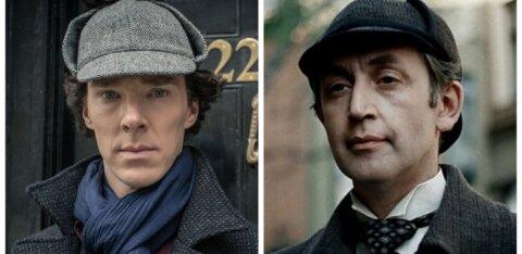 "Читатели ""Бублика"" выбрали любимого Шерлока. Ливанов разгромил Камбербэтча"