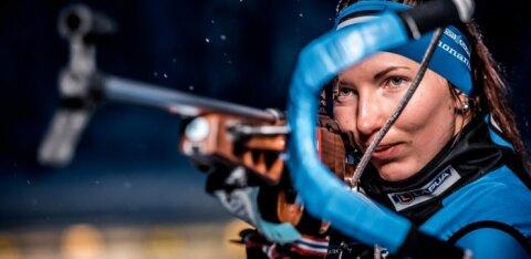 Последняя стрельба разрушила надежду эстонской биатлонистки