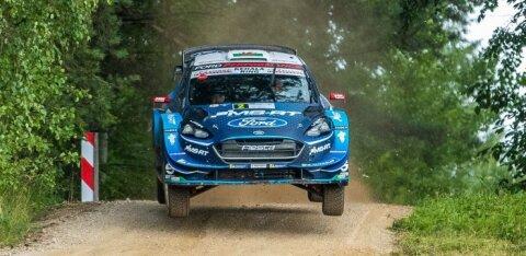 0fd775494ee VIDEO   WRC avaldas video Evansi karmist hüppest Rally Estonial, mis jätab  ta Soome rallist