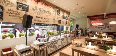 Vapiano продолжает расширяться: в центре Ülemiste открылся ресторан с новой концепцией обслуживания