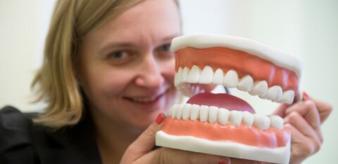 Исследование: жители Эстонии чистят зубы тщательнее жителей Латвии и Литвы