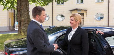 Ратас: у сотрудничества Хорватии и Эстонии большой потенциал