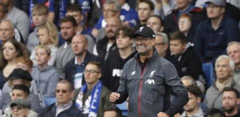 Chelsea alistanud Liverpool jätkab täiseduga, vähemuses lõpetanud Arsenal sai üliraske võidu