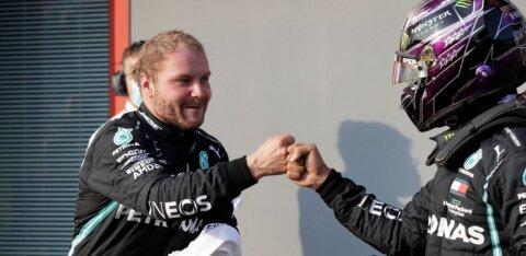 Bottas alustab Imolas toimuvat F1 etappi esikohalt, Gasly näitas suurepärast kiirust