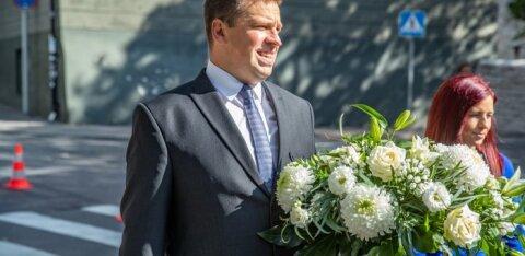 Ратас в последний момент решил, что не пойдет на президентский прием к Кальюлайд