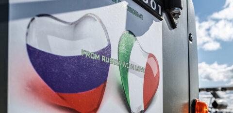 """В Италии — российский гимн, вешают """"триколор"""" и Пупо поет по-русски. Что с этим не так?"""