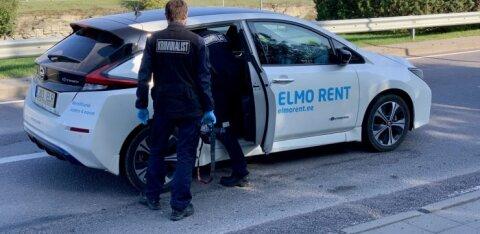 Впервые в Эстонии: в Таллинне угнан арендный автомобиль