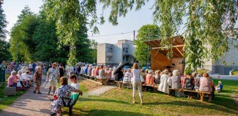 В парке Лёвенру в Кристийне продолжаются бесплатные уличные тренировки