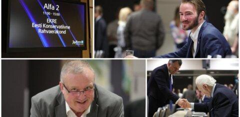 ФОТО: Заявление совета EKRE: на евровыборах придется выбирать между разрушителями национального государства и защитниками суверенности из EKRE
