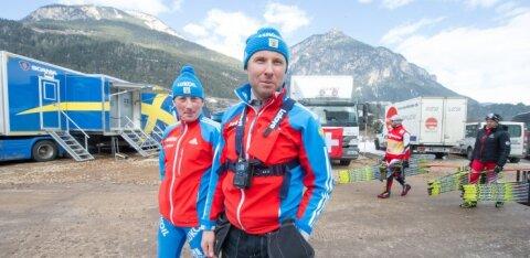 Четыре эстонских специалиста продолжают работу в сборной России