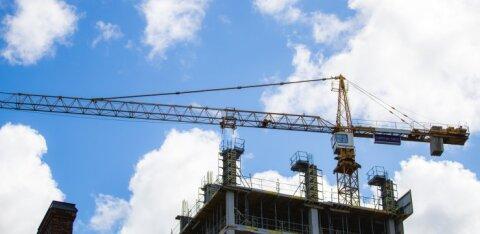 Ehitusmahud vähenevad: viimati võis sellist kahanemist täheldada 2009. aasta alguses