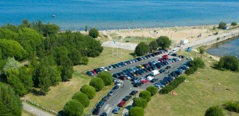 DROONIFOTOD | Kuumalaine on Tallinna rannad umbe ajanud