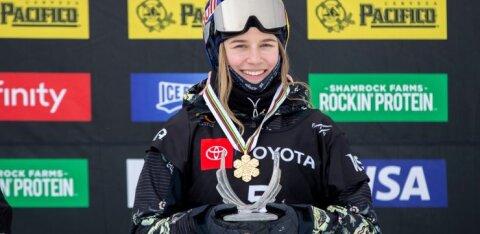 Kelly Sildaru valiti USA Spordiakadeemia poolt teist kuud järjest parimaks sportlaseks