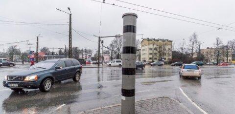 На перекрестке Кристийне с вечера субботы до полудня воскресенья не будут работать светофоры
