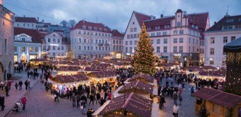 В пятницу откроется Таллиннский рождественский рынок